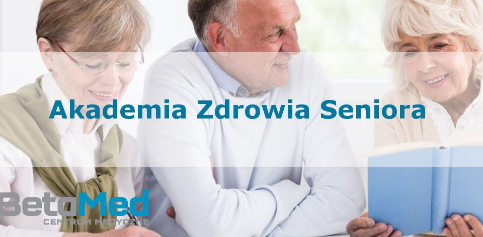 Akademia zdrowia seniora - plakat na stronę