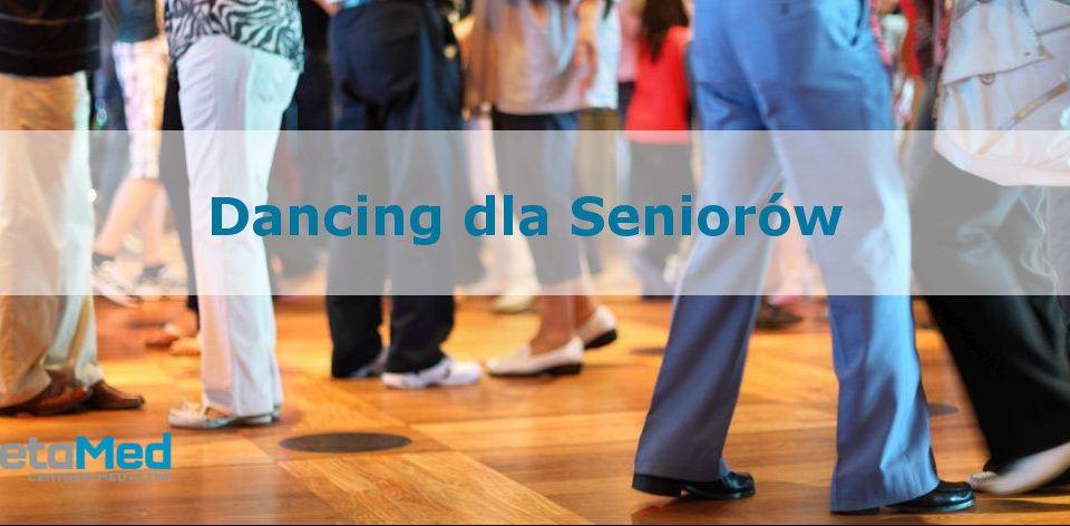 Dancing dla seniorów - plakat