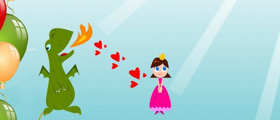 Mała księżniczka ze smokiem - wersja kreskówkowa
