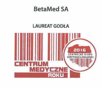Laureat Godła Centrum Medyczne Roku