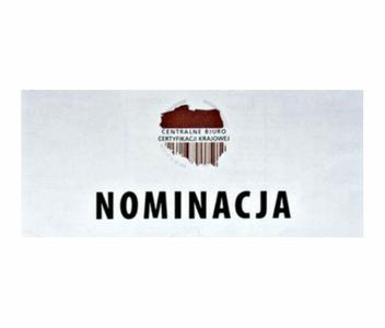 Nominacja - Godło Liderów Jakości Centrów Medycznych w Polsce