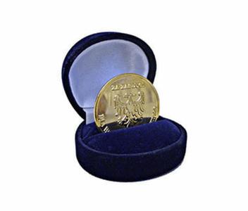 Dyplom - Złota Odznaka Honorowa za zasługi dla województwa śląskiego