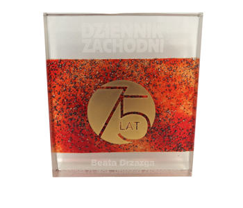 Nagroda Dziennika Zachodniego dla Prezes Beaty Drzazgi