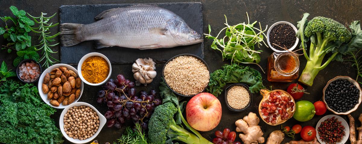 dieta śródziemnomorska - jej produkty
